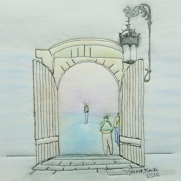 Pausing at the Doorway