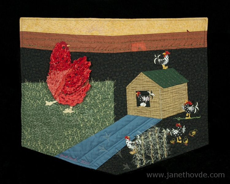 Soul Quilt: She Was Chicken, But She Crossed the Road, Anyway