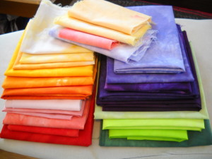 March Antidote Hand-dyed Fabrics