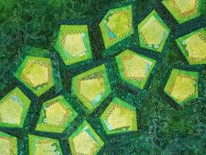 My Cells Are Happy and Healthy, Detail Copyright 2014 Janet Hovde